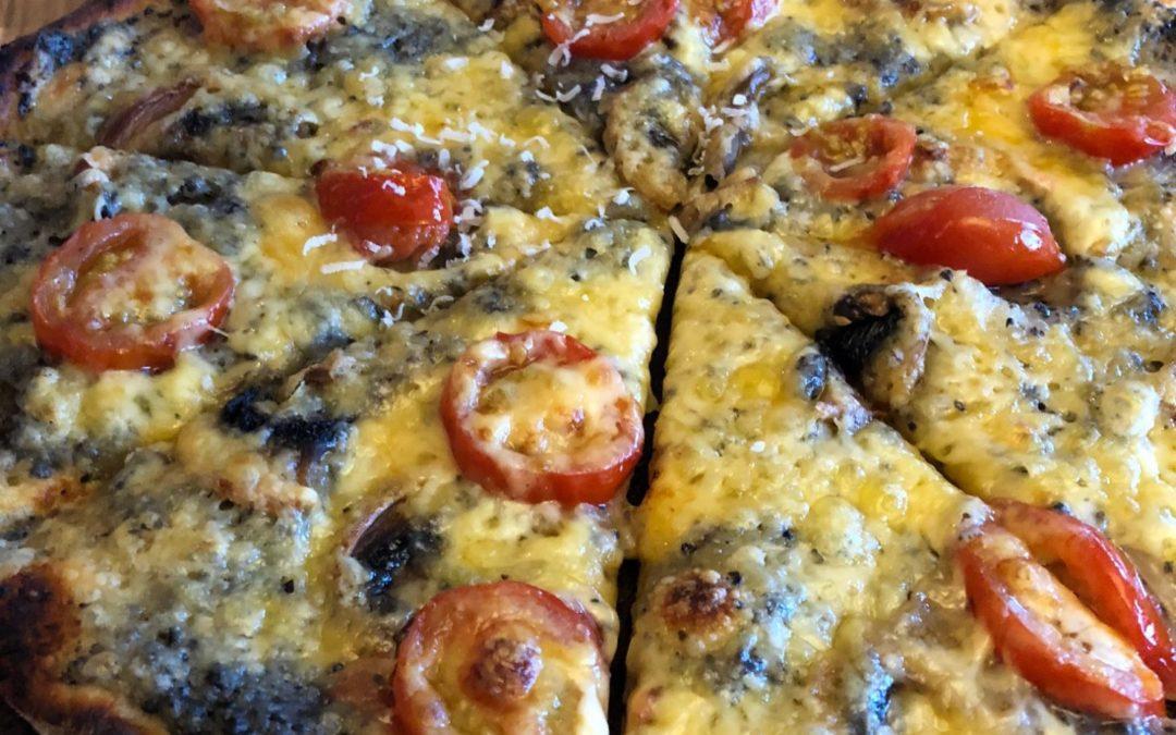Jarðskokkapizza